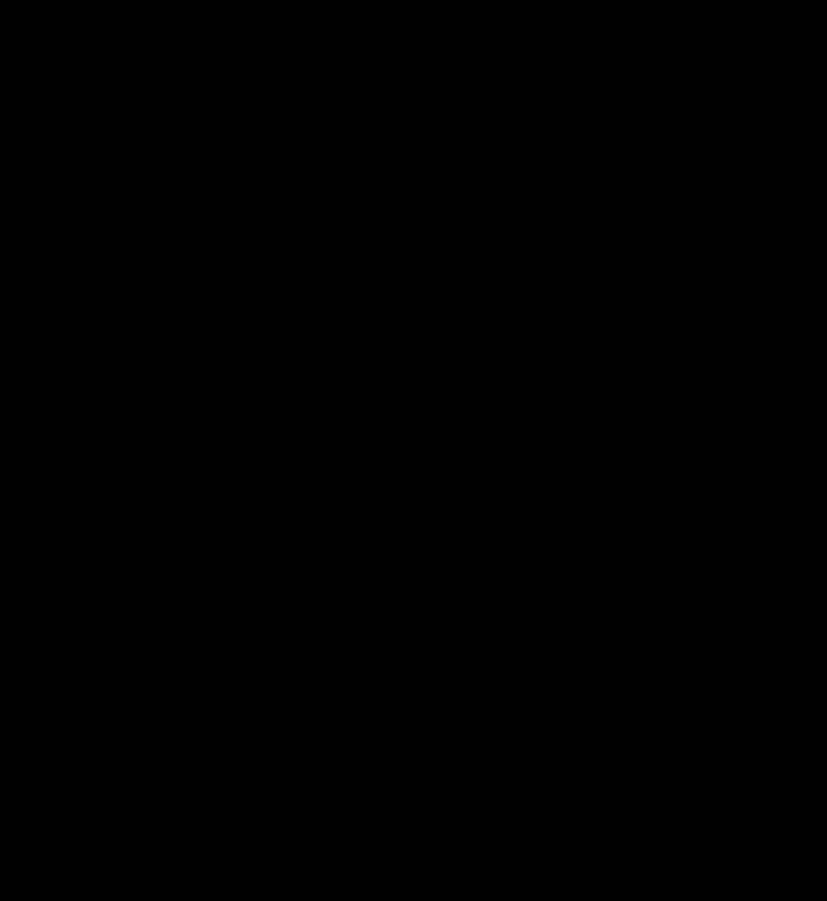 piano, silhouette, black